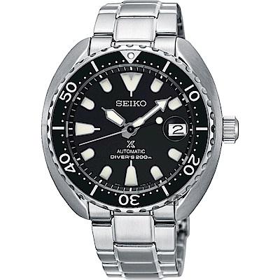 (無卡分期6期)SEIKO精工 PROSPEX 潛水200米機械錶(SRPC35J1)