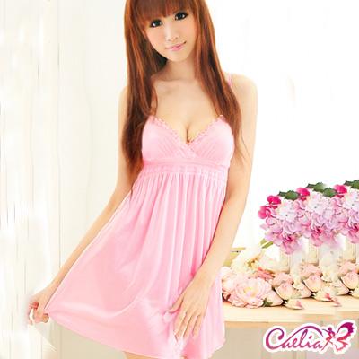 Caelia-花蕾戀語-甜美柔緞睡襯衣