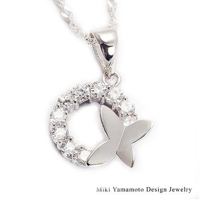 【山本美樹】 舞蝶 水晶項鍊