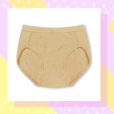 曼黛瑪璉-B80016夜間生理內褲(米膚色)