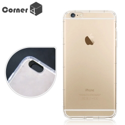 Corner4 iPhone6s/iPhone6 Plus 5.5吋 透明防摔手機空壓軟殼