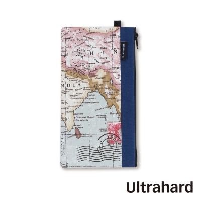 Ultrahard 手機袋- World Map 世界地圖系列(深海藍)