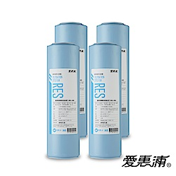 愛惠浦 10英吋前置無鈉樹脂濾芯(4支) RES-100H