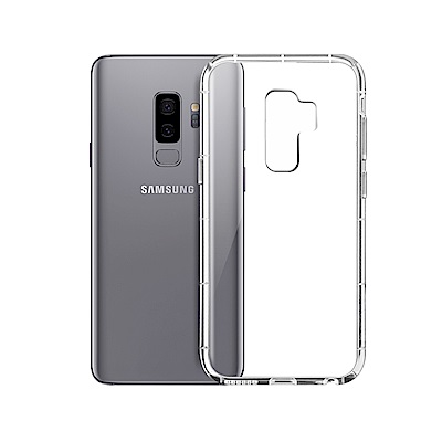 Xmart for Samsung Galaxy S9+ 四角防護抗震氣墊保護殼