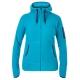 【Berghaus 貝豪斯】女款連帽刷毛保暖外套H22F24淺灰藍 product thumbnail 1