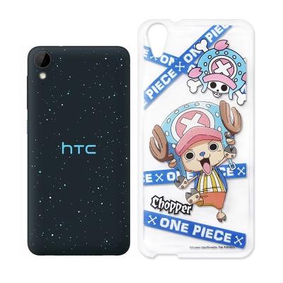 授權正版航海王 HTC Desire 825 透明軟式手機殼(封鎖喬巴)