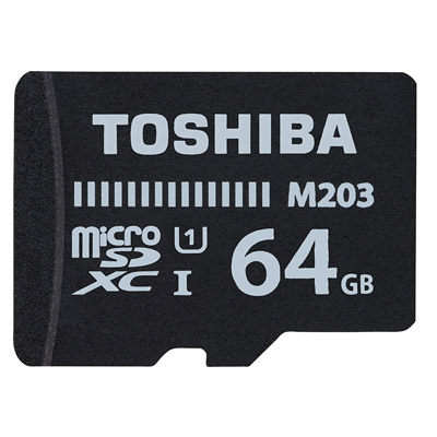 TOSHIBA Micro-SDXC R100MB (U1) 64GB 記憶卡(附轉卡)