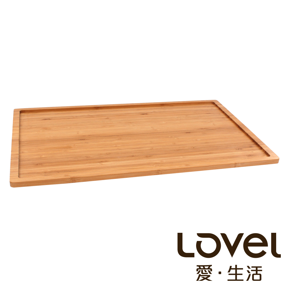 LOVEL天然竹製食物盤托盤GN1 2 15mm