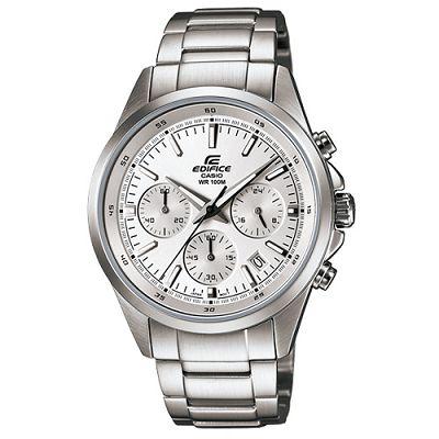 EDIFICE 簡單時尚經典時刻賽車計時錶(EFR-527D-7A)-白/41mm