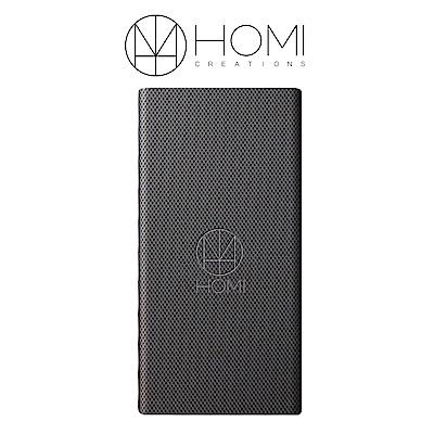 HOMI FiberDock 碳纖維紋QI無線充電板 - 鐵灰