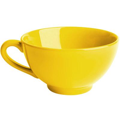 EXCELSA Trendy陶製湯杯(黃450ml)