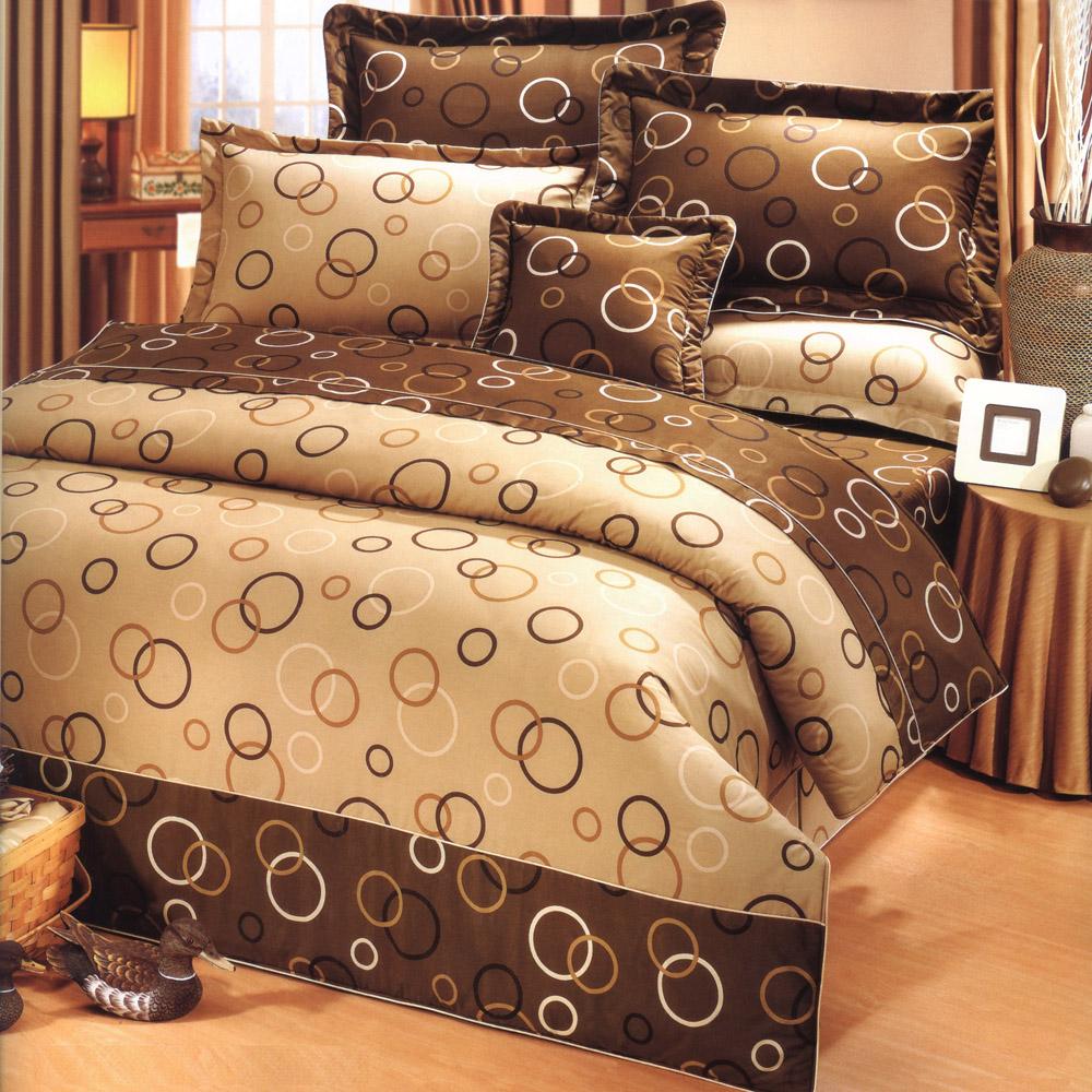 艾莉絲-貝倫 夢想空間 100%純棉 單人薄被套床包三件組