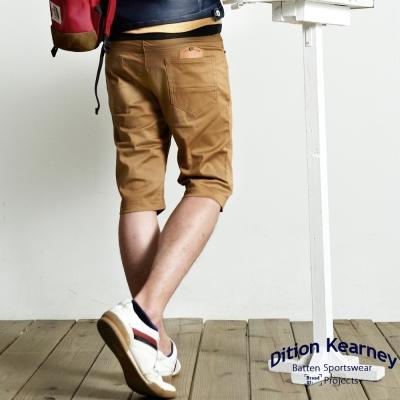 DITION 韓系TS鋼印皮革休閒短褲
