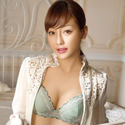華歌爾-花焰浪漫風情B-D罩杯內衣-柔粉綠