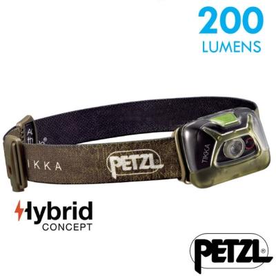 【法國 Petzl】新款 TIKKA 超輕量省電頭燈(200流明)_綠