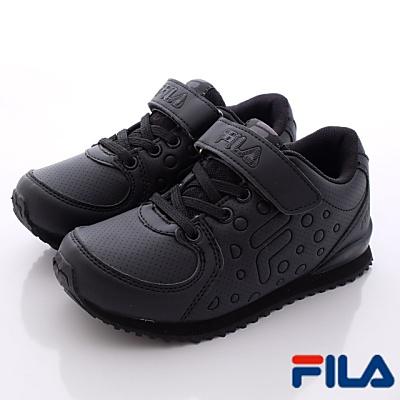 FILA頂級童鞋款-私校專用運動款-406P-000(中大童段)N