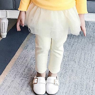 Baby unicorn 米黃網紗澎裙內搭褲