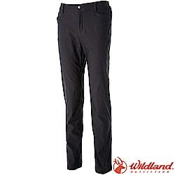 Wildland 荒野 0A52368-93深灰色 男RE超彈性舒適保暖長褲