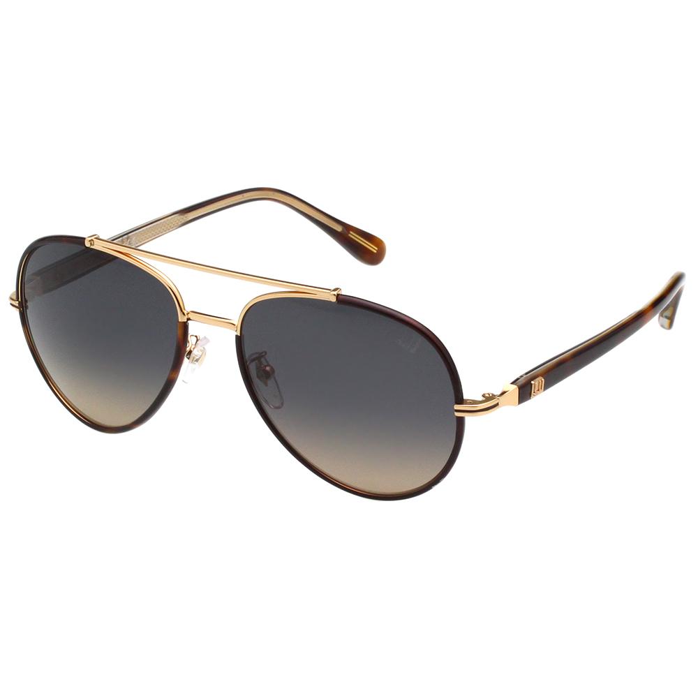 Dunhill 太陽眼鏡 (金配琥珀)SDH047