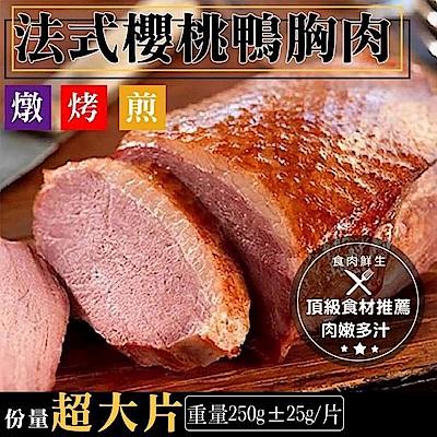(699元任選)海陸管家*法式櫻桃鴨胸肉(每包2片入) x1包