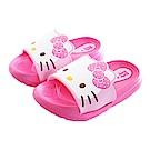 Hello Kitty休閒拖鞋 桃 sk0421 魔法Baby