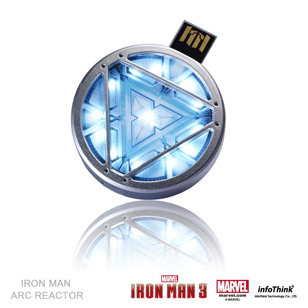 InfoThink鋼鐵人造型隨身碟 - 微型方舟反應爐 16GB