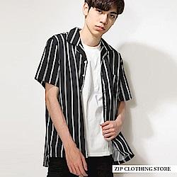 開領短袖襯衫(20色) ZIP日本男裝