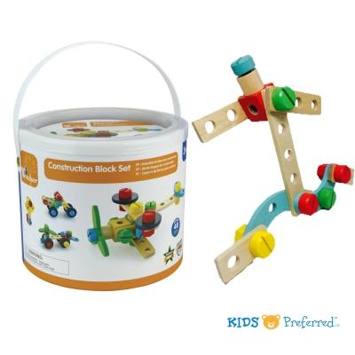 美國 KIDS PREFERRED 百變工程益智玩具組