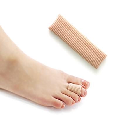 足的美形   纖維矽膠腳指保護套(2條)