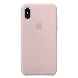 Apple 原廠 iPhone X 矽膠保護殼 ( 沙粉 )
