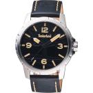 Timberland天柏嵐 沙漠之丘手錶-黑/46mm