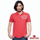 BRAPPERS 男款 美式短袖POLO衫-紅