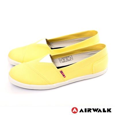 AIRWALK-女-帆布鞋-淺黃