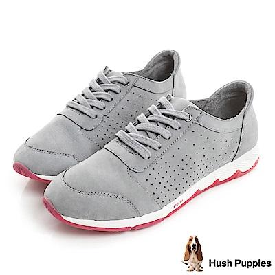 Hush Puppies CESKY 綁帶機能健走鞋-灰色