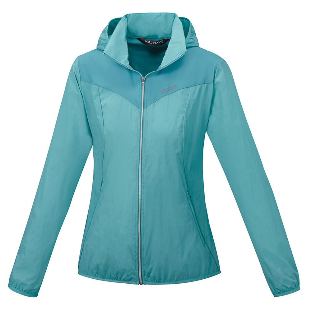 【ATUNAS 歐都納】女款防曬透氣輕薄外套 A-G1607W 天藍