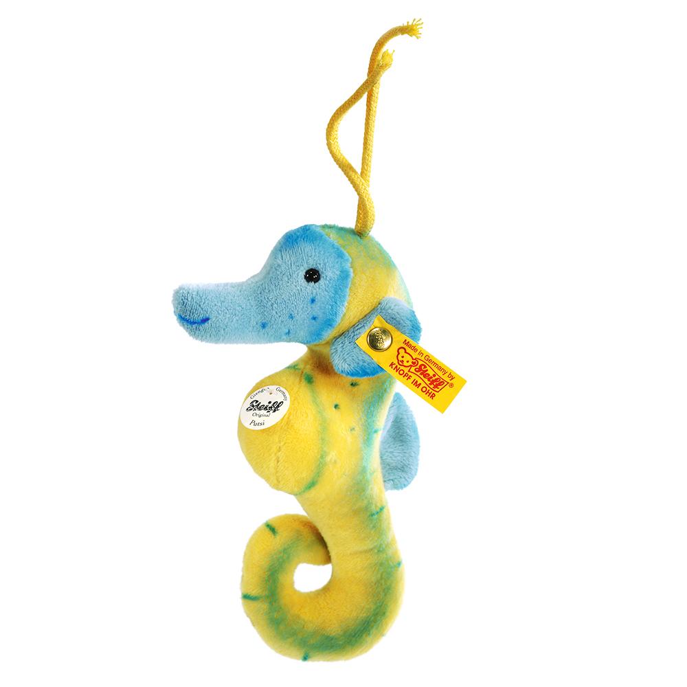 STEIFF德國金耳釦泰迪熊 - Putsi Sea Horse (19 cm)