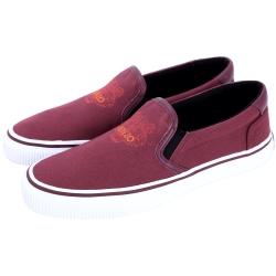 KENZO Tiger Slip-On 老虎刺繡休閒便鞋(紫紅色)