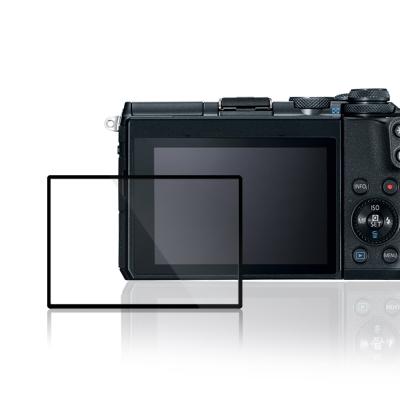 LARMOR 防爆玻璃靜電吸附相機保護貼-Canon EOS M6專用