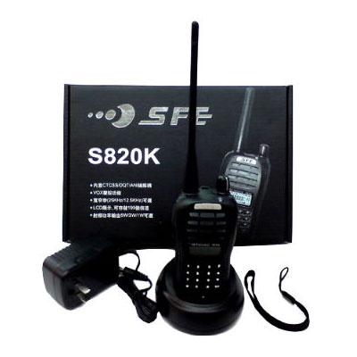 順風耳 SFE S820K 無線電對講機(單支全配)