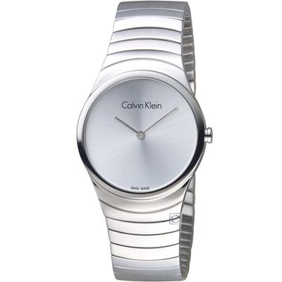 ck Calvin Klein   極簡時石英錶(K8A23146)銀/33mm