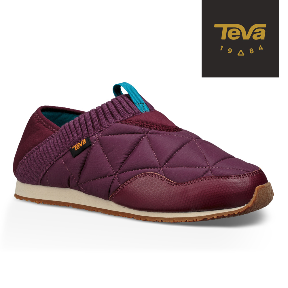 TEVA 美國-女 EmberMoc 二穿式輕量菠蘿麵包鞋 紫紅