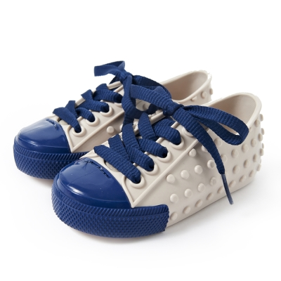 MINI MELISSA豆豆鞋-米白/深藍
