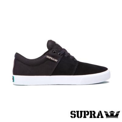 SUPRA Stacks Vulc II系列男鞋-黑/白