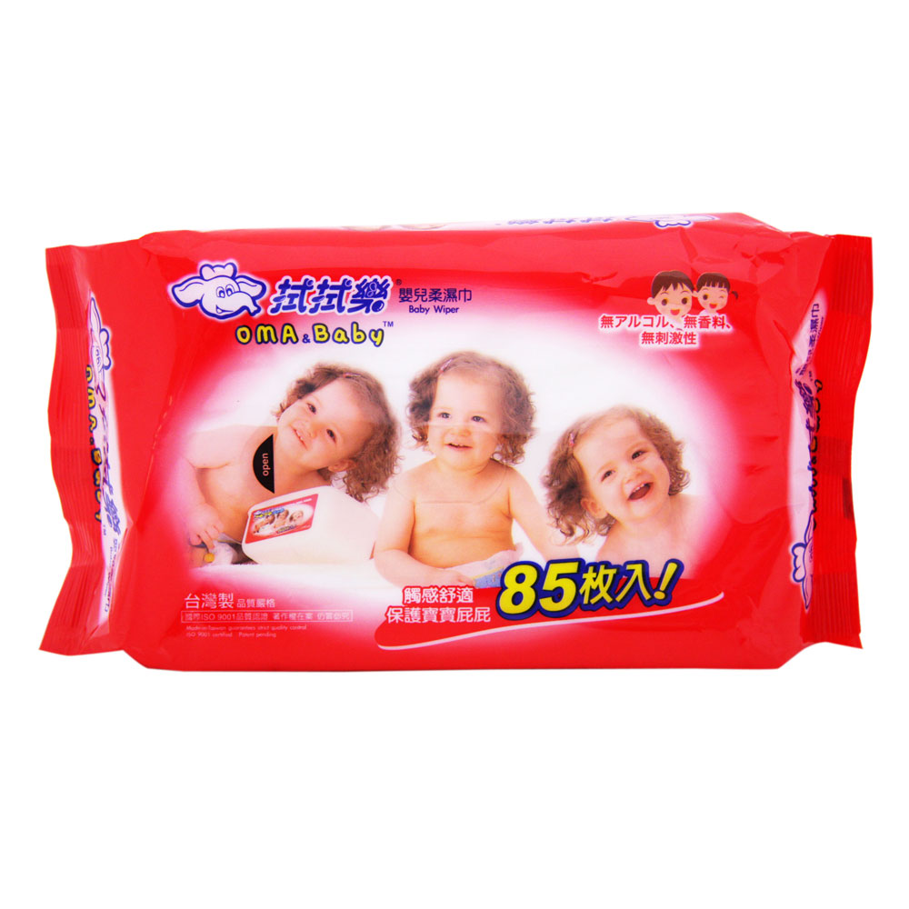 拭拭樂嬰兒柔濕巾85抽*36包/箱
