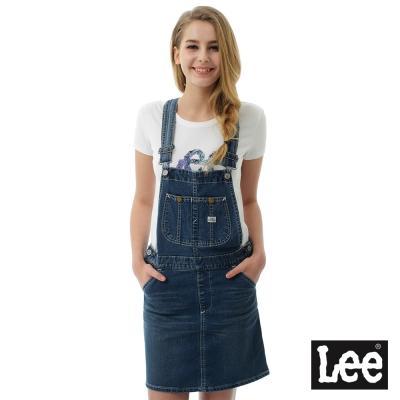 Lee 牛仔吊帶裙/RG-女款-藍色