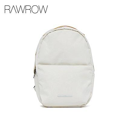 RAWROW-漫遊系列-13吋簡約蛋形後背包-亮白-RBP223WH