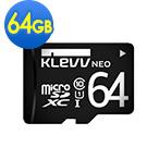 KLEVV 科賦 Micro SDXC UHS-1 64GB 記憶卡(無轉卡)