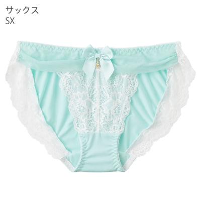 aimerfeel 淑女透視奢華內褲-淺藍色
