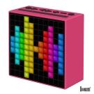 DIVOOM TimeBox 智能LED音樂鬧鐘(藍牙喇叭)-魔力粉