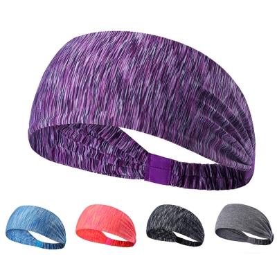 Maleroads 時尚條紋 運動髮帶 頭巾 跑步 健身 瑜珈 簡約造型 清爽透氣